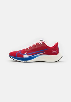 Nike Performance - AIR ZOOM PEGASUS 37 PRM - Neutrala löparskor - gym red/game royal/white/sail