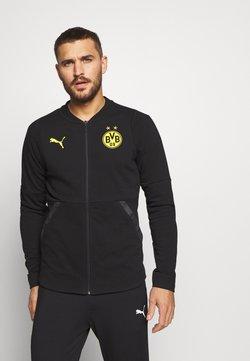 Puma - BVB BORUSSIA DORTMUND CASUALS  - Vereinsmannschaften - black