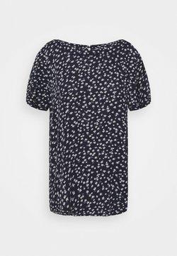 edc by Esprit - BLOUSE - T-Shirt print - navy