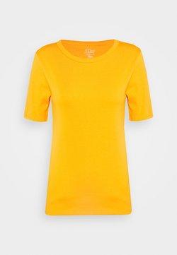 J.CREW - CREWNECK ELBOW SLEEVE - T-Shirt basic - orange slice