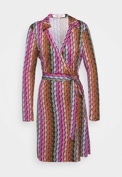 Diane von Furstenberg - NEW JEANNE  - Robe d'été - hydra black