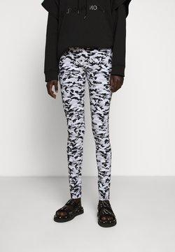 MM6 Maison Margiela - CAMO - Leggings - Trousers - white/grey/multi