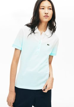 Lacoste - Polo - turquoise/light green/white