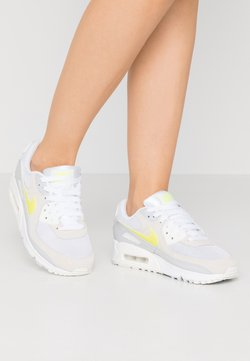 Nike Sportswear - AIR MAX 90 - Sneakers laag - white/lemon/pure platinum/sail