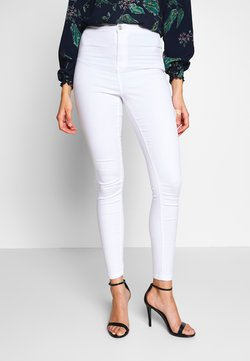 Missguided Tall - VICE HIGHWAISTED - Jeans Skinny Fit - white