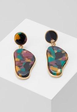 sweet deluxe - FLEURELLE - Earrings - gold-coloured/multicolor