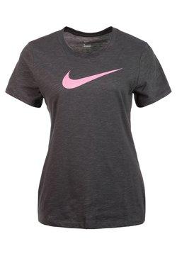 Nike Performance - DRY TEE CREW - T-Shirt print - grey