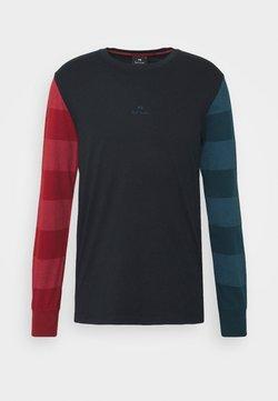 PS Paul Smith - Maglietta a manica lunga - dark blue/red/green