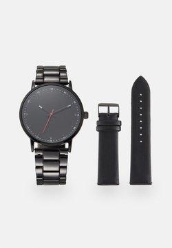 Pier One - SET - Montre - black