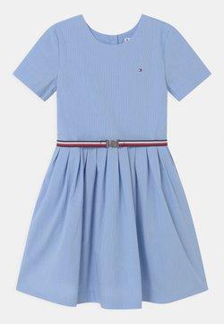 Tommy Hilfiger - BOX PLEAT DRESS - Blusenkleid - calm blue