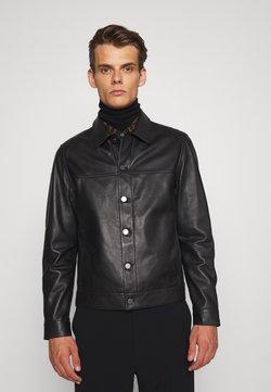 Theory - PATTERSON - Leren jas - black