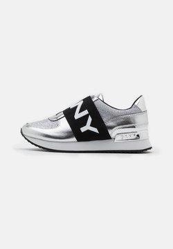 DKNY - MARLI - Loafers - silver