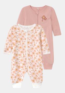 Name it - NBFNIGHTSUIT ZIP 2 PACK - Pyjama - silver pink