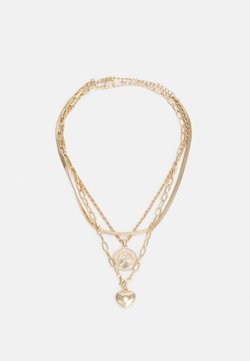 sweet deluxe - BENEDICTA 3 PACK - Necklace - gold-coloured