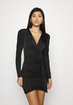 Guess - CHARMIAN DRESS - Jerseykjoler - jet black