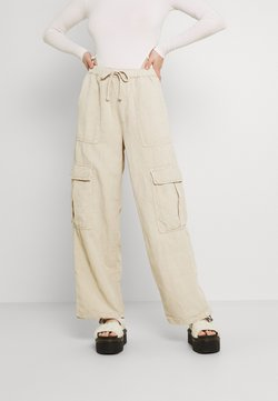 BDG Urban Outfitters - JESSYE LUCA PANT - Cargo trousers - stone