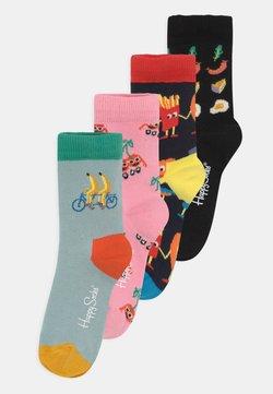 Happy Socks - FRUIT MATES & FOOD FRIENDS 4 PACK UNISEX - Calcetines - multi-coloured