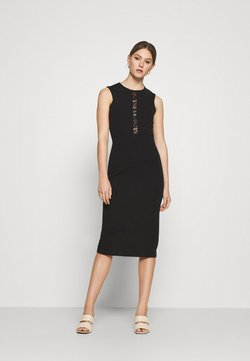 WAL G. - SAVANNAH MIDI DRESS - Cocktail dress / Party dress - black