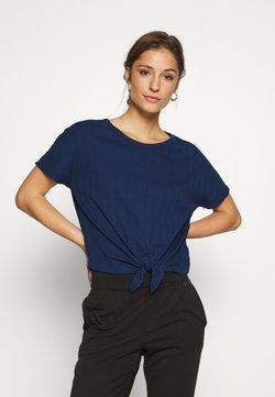 GAP - SLOUNGE KNOT TEE - Nachtwäsche Shirt - pangea blue