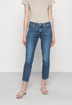 7 for all mankind - ROXANNE ANKLE LUXVINREJ - Slim fit jeans - mid blue