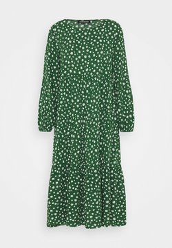 Even&Odd Petite - Freizeitkleid - green/white