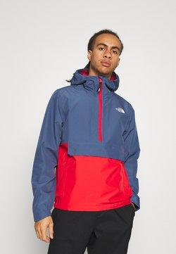 The North Face - WATERPROOF FANORAK - Hardshelljacke - vintage indigo/rococco red