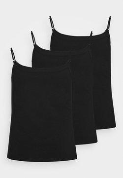 Anna Field Curvy - 3 PACK - Débardeur - black