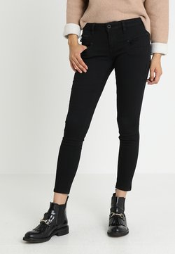 Freeman T. Porter - ALEXA CROPPED - Jeans Skinny Fit - black