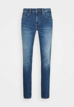Tommy Jeans - AUSTIN SLIM TAPERED - Jeans Tapered Fit - blue denim