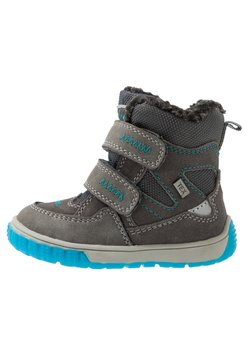 Lurchi - JAUFEN TEX - Snowboot/Winterstiefel - grey blue