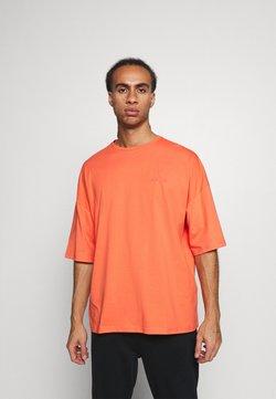 NU-IN - OVERSIZED CREW NECK  - T-paita - orange