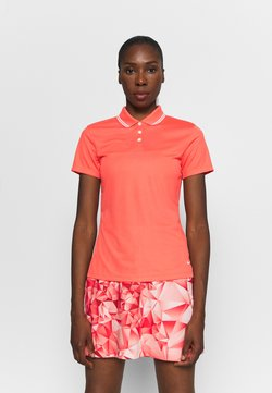Nike Golf - DRY VICTORY - Funktionsshirt - magic ember/white/white