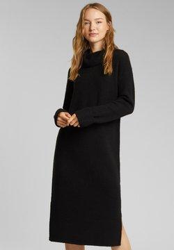 Esprit - Gebreide jurk - black