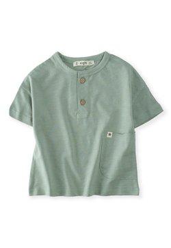 Cigit - POCKET - T-Shirt print - metallic green