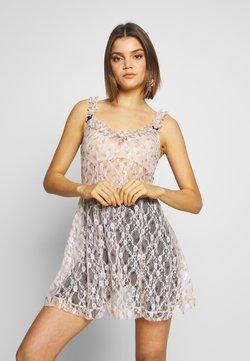 NEW girl ORDER - DITSY DRESS - Freizeitkleid - beige
