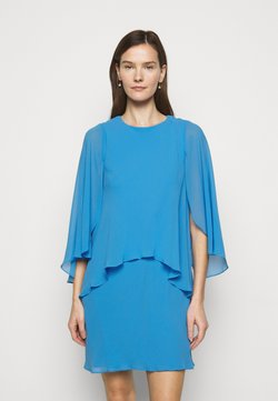 Lauren Ralph Lauren - CLASSIC DRESS - Vestido de cóctel - captain blue