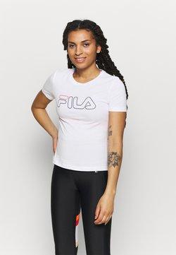 Fila - LADAN - Printtipaita - bright white