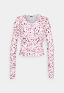 BDG Urban Outfitters - DITSY CARDIGAN - Strikjakke /Cardigans - white