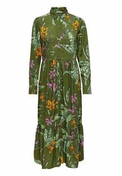 ONLY - ONLPALM  - Vestido camisero - winter moss