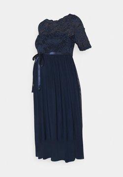 MAMALICIOUS - MLMIVANA DRESS - Vestito elegante - navy blazer