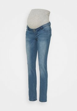 MAMALICIOUS - MLSARNIA  - Jeans Slim Fit - medium blue denim