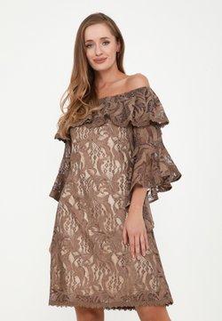 Madam-T - SALLY - Cocktailkleid/festliches Kleid - braun