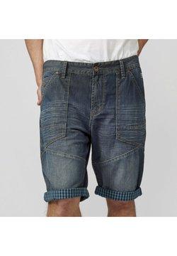 Koroshi - BERMUDA  - Shorts vaqueros - azul oscuro