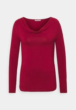 Anna Field - Pitkähihainen paita - dark red