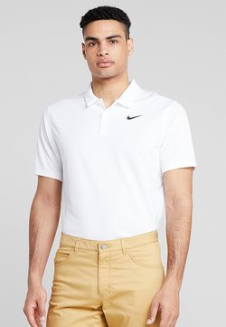 Nike Golf - DRY ESSENTIAL SOLID - Funktionsshirt - white/black