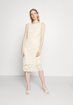 Esprit Collection - DRESS - Vestido de tubo - cream beige