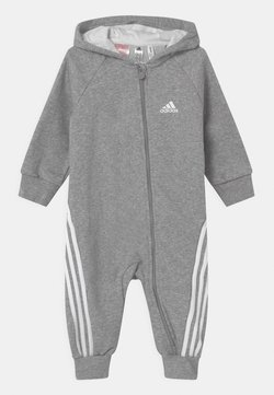 adidas Performance - ONESIE UNISEX - Jumpsuit - medium grey heather/white