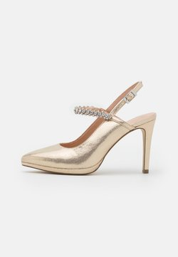 Menbur - High heels - gold