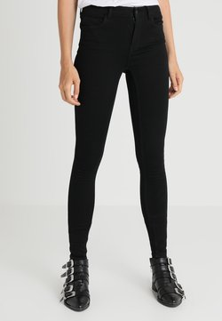 Vero Moda Tall - VMSEVEN SHAPE UP TALL - Jeans Skinny Fit - black