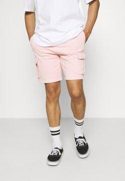 Karl Kani - SMALL SIGNATURE WASHED  - Shorts - rose